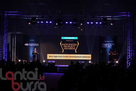 Lantaibursa.id/MS Fahmi Suasana penghargaan pada Indonesia Property Award 2016 di Jakarta, Kamis (13/10). Sekurangnya 30 penghargaan dengan 330 nama industri properti menjadi nominasi ajang penghargaan bergengi tahunan.