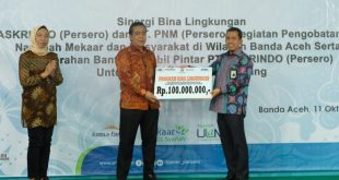 Ciptakan Generasi Emas, Askrindo Berikan Mobil Pintar di Aceh