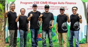 CIMB Niaga Auto Finance Berdayakan 500 Petani di Serang