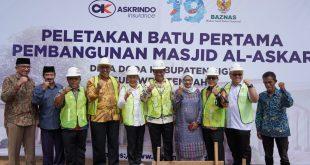 Askrindo Gandeng Baznas Serahkan Bantuan di Sulawesi Tengah