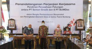 Gandeng BUMdes, SMGR Dorong Pertumbuhan Ekonomi Rembang