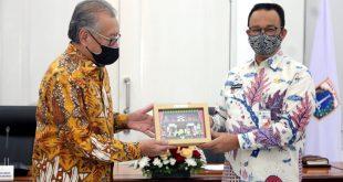 LPS Serahkan Bantuan ke Pemerintah Provinsi DKI Jakarta