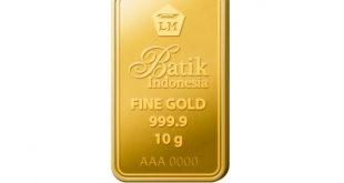 Penjualan Emas  Antam Naik Signifikan di Sembilan Bulan Pertama 2020