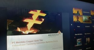 Produksi Emas Merdeka Copper Berpotensi Tertunda Karena Insiden
