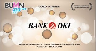 Bank DKI Raih Penghargaan BUMD Marketeers Award