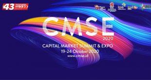 Tingkatkan Literasi dan Inklusi Pasar Modal, CMSE 2020 di Gelar Virtual