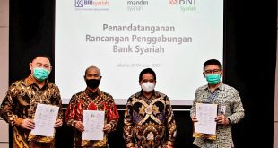 Bank Mandiri Bakal Miliki 51,2% Pada Merger Bank BUMN Syariah