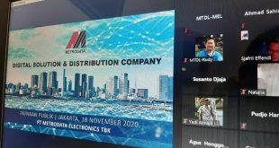 Metrodata Electronics Targetkan Penjualan Rp14 Triliun Tahun Ini