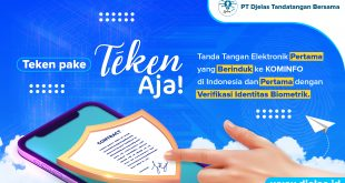 Digital Signature DTB Siap Dukung Digitalisasi di Indonesia