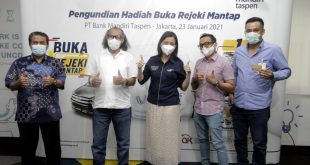 Program Undian Berhadiah Dorong DPK Bank Mantap Capai Rp27,58 Triliun