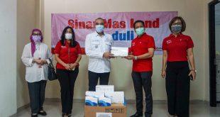 Sinar Mas Land Salurkan Bantuan Ribuan Alat Tes Covid-19 ke Pemkab Tangerang