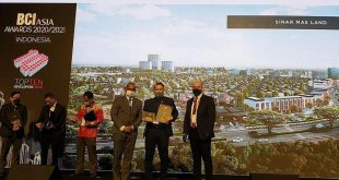 Sinar Mas Land Raih Sederet Penghargaan Internasional dalam Satu Pekan