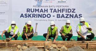 Gelar CSR, Askrindo Kembali Gandeng Baznas Bangun Rumah Tahfiz